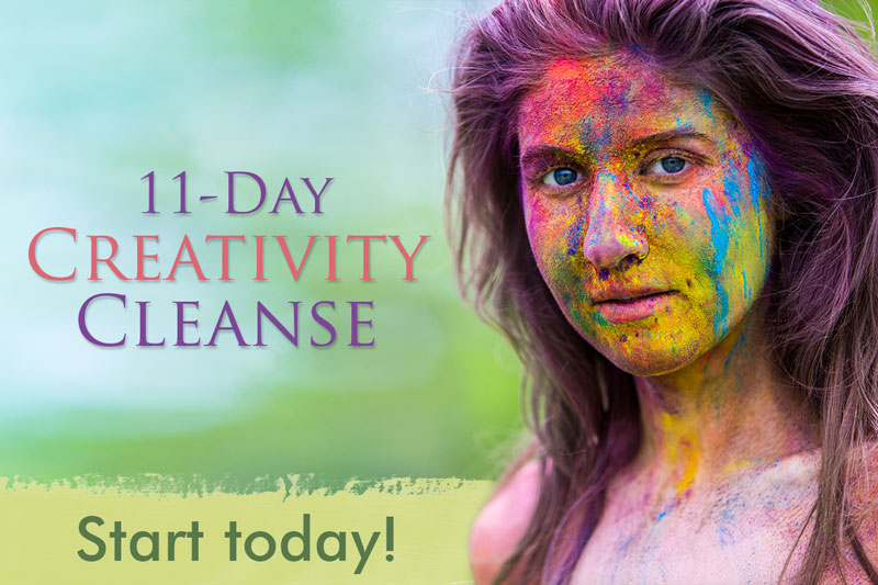 Laüra Hollick's 11-day Creativity Cleanse