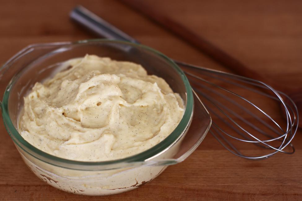 Crema de vanilie, rețetă video