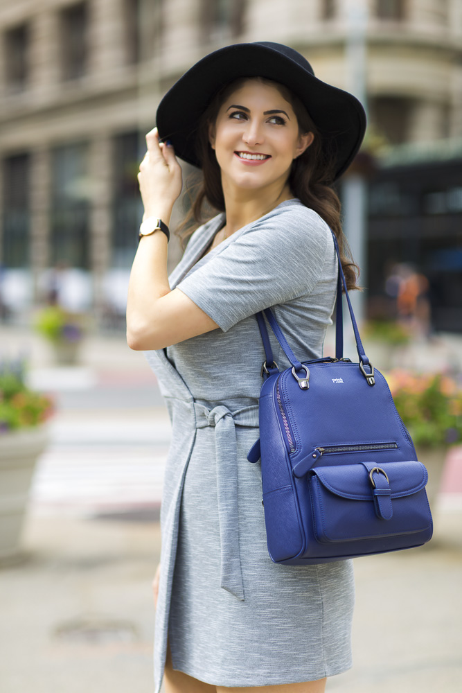 Sorial Gramercy Convertible Backpack Giveaway, Laura Lily Fashion Travel and Lifestyle Blog,