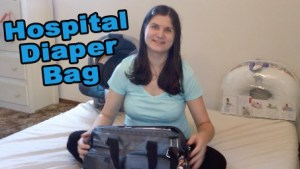 What's In Baby's Hospital Diaper Bag?