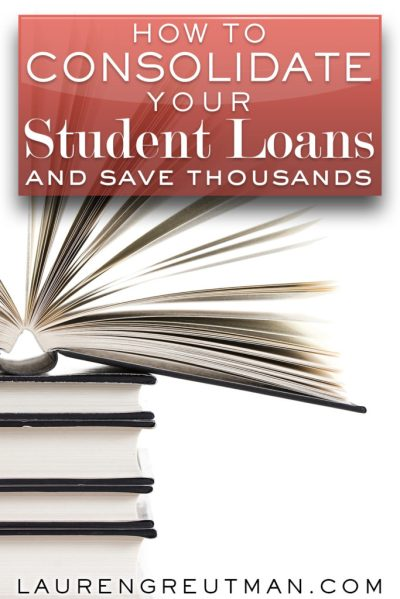 How to save thousands on your student loans - Lauren Greutman