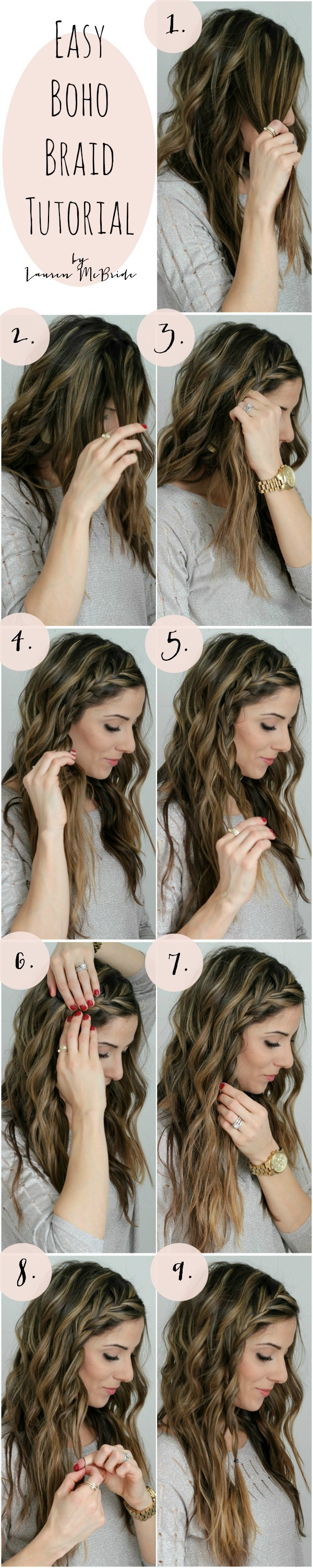 Easy Boho Braid Tutorial
