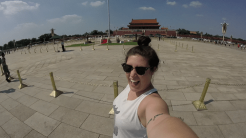 Moving To China Checklist | Tiananmen Square moving to china from usa foreigner woman