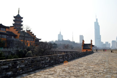 LA VIE SANS PEUR travel and lifestyle blog | Nanjing City Wall Jiming Temple China tourist what it's like american touring explore exploring wander wandering xuanwu lake history historical sites