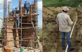 Gobierno municipal Inicia la construcción de la segunda etapa del sistema múltiple de agua potable en Chalma