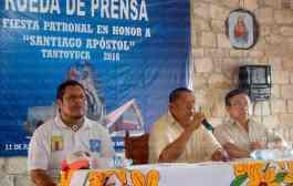 Invitan a participar en fiestas patronales en honor a Santiago Apóstol en Tantoyuca