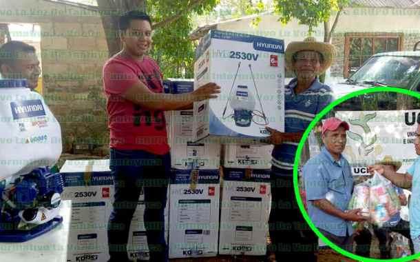 VIDEO: Apoyo al sector más vulnerable, compromiso de la UCIN en Veracruz