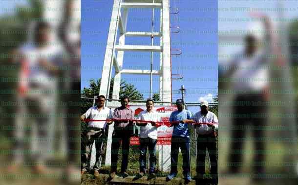 Alcalde inaugura otro tanque elevado de agua potable en la localidad del Aguacate Grande