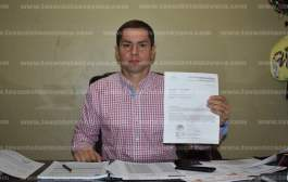 Por desvíos de recursos federales, alcalde de Chalma interpone formal denuncia ante la PGR