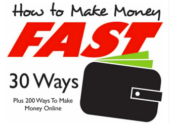 How To Make Money Fast: 30 Ways, Plus 200 Ways To Make Money Online [Infographic]