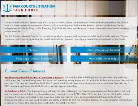 Fair Courts Litigation