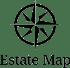 Estate Map Logo Full Up Down
