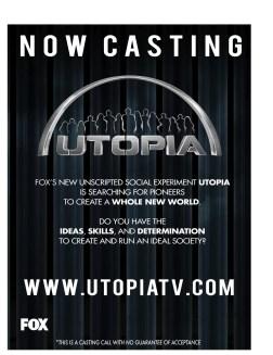 Utopia Casting Flyer 1 Final