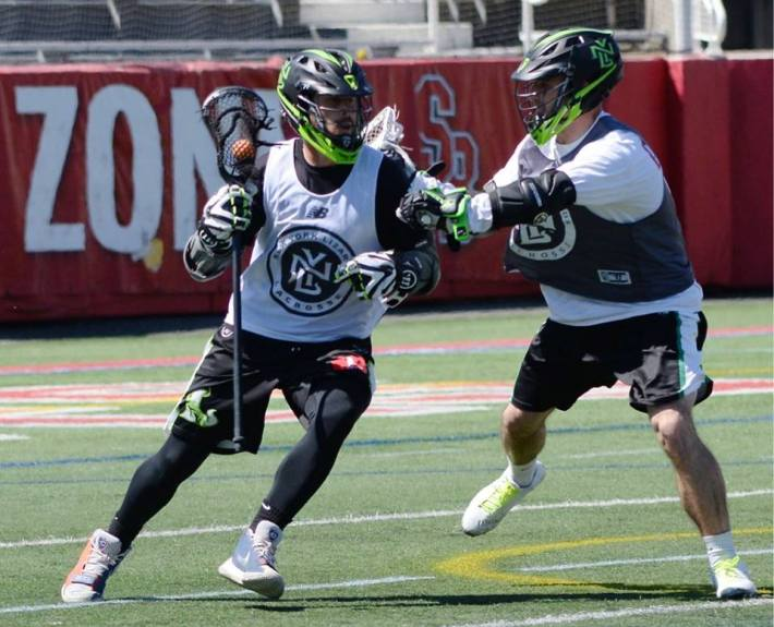 tommy palasek attack new york lizards lacrosse practice