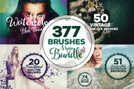 377 Photoshop Brushes Megabundle by Layerform Design Co