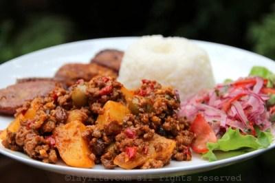 Cuban beef picadillo - Latin comfort food - Laylita's Recipes