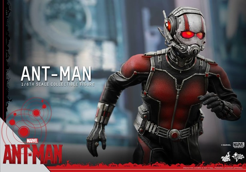 This full scale Ant Man will cost you a sixth scale price Ant Man  2