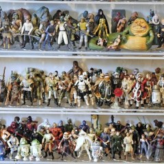 How much would you have paid for this massive collection of Star Wars toys?