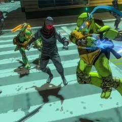 Leonardo slows time down in Teenage Mutant Ninja Turtles: Mutants in Manhattan