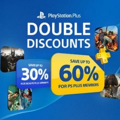 The Playstation Store is having a PS+ double discount sale