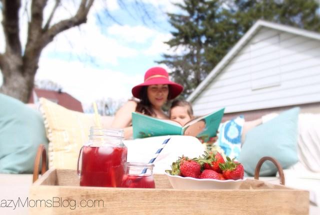 Family patio makover