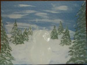 snowman- paint in snowman 1