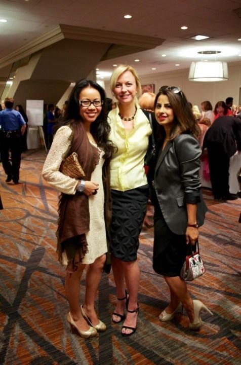Hanh Tran, Reyne Hirsch and Ruchi Mukherjee