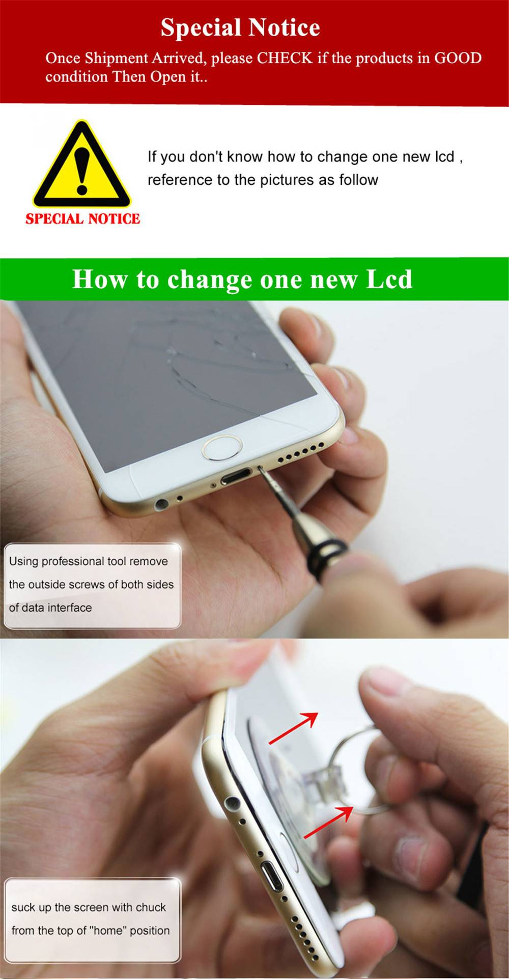 How to change iphone lcd-1