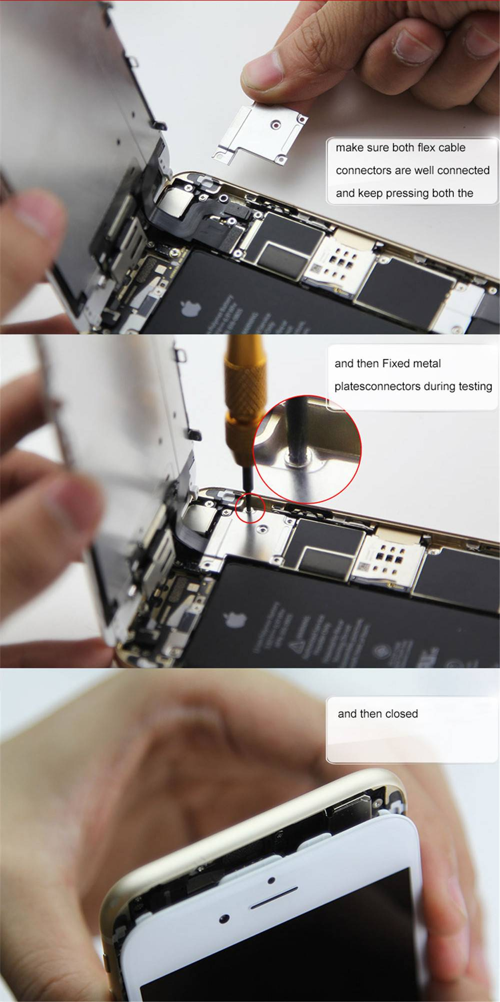 How to change iphone lcd-6