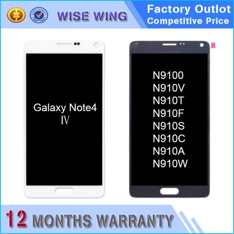 samsung note4 lcd screen