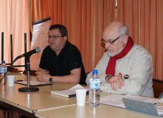 Thuir 23 mai 2016 Francis Daspe et Alain Mih