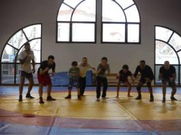 entraînements de lutte au sein du JECT club multi-combats