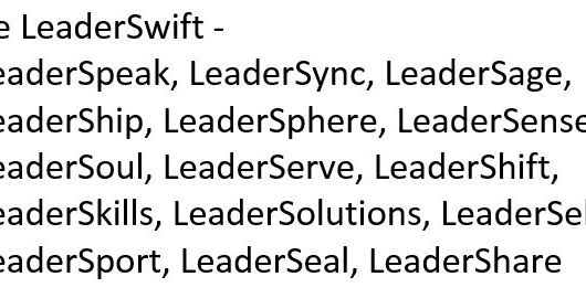 be leaderswift card