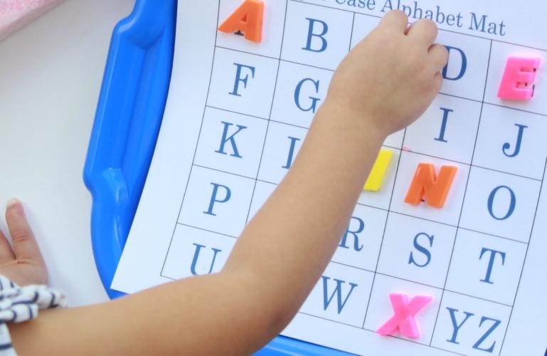alphabet mat 3