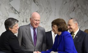 Senator Leahy Holds First Congressional Hearing On Immigration Reform