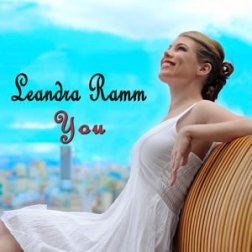 Leandra Ramm picture, wearing white dress sitting down for You Album Cover