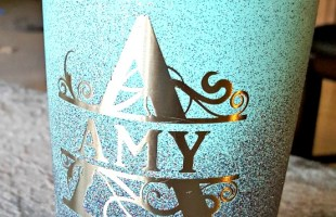 Spray Painting a Stainless Steel Mug