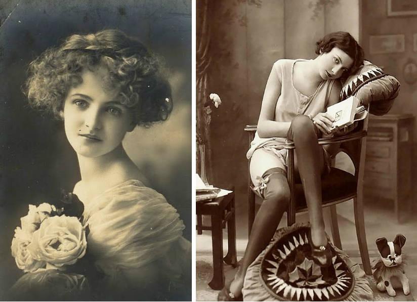 womens beauty standards 1900