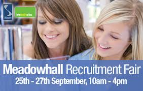 meadowhall jobs fair in sheffield 25 september 2012. Black Bedroom Furniture Sets. Home Design Ideas