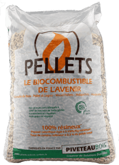 Granulés / Pellets de la marque PiveteauBois disponible chez Eurodouglas pour votre chauffage au bois !!!