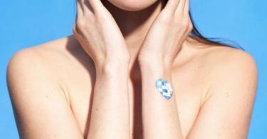 My UV Patch L'Oréal capteur UV