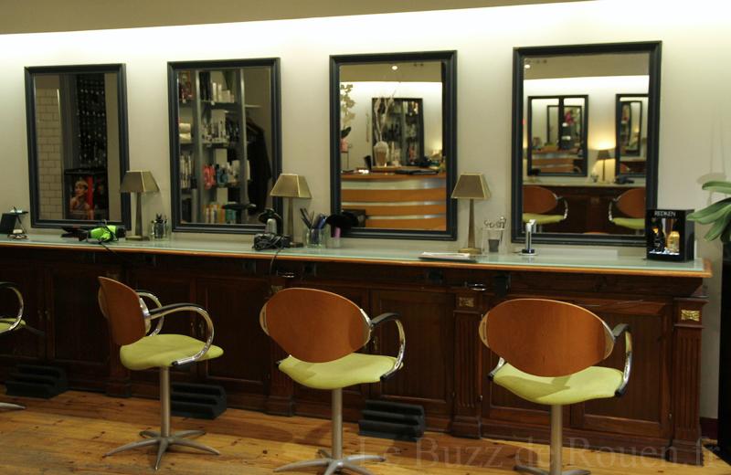 Le bel air salon de coiffure le buzz de rouen for Salon bel hair