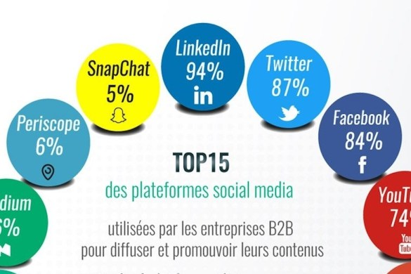 top 15 social media B2B copie
