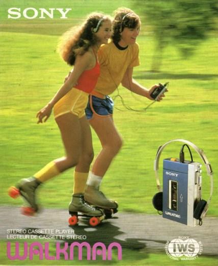 Publicité Sony Walkman