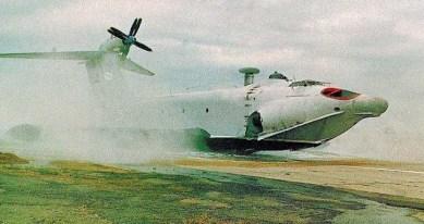 ekranoplan A-90 Orlyonok
