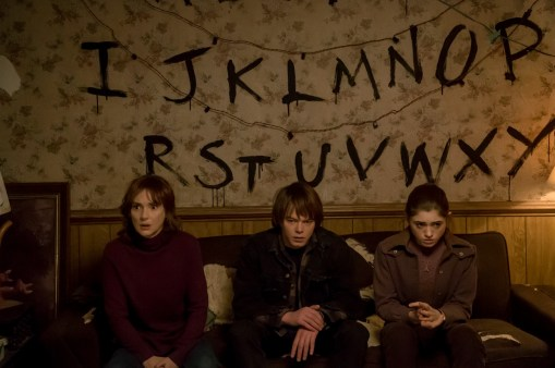 Stranger Things L'alphabet mural