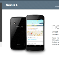 Nexus 4 Is Now On Sale!