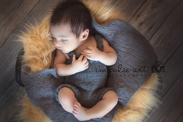 Newborn Knit Overalls Pattern