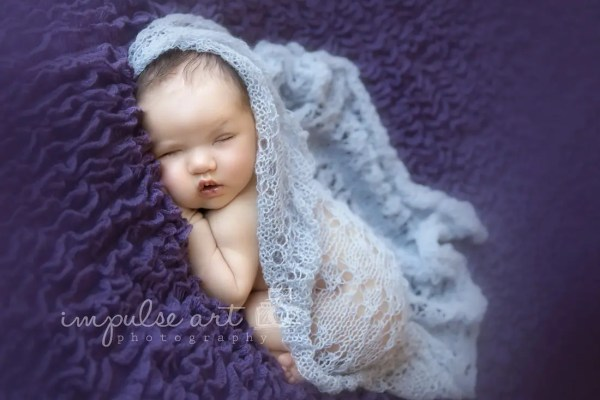 Newborn Lace Knit Wrap Pattern