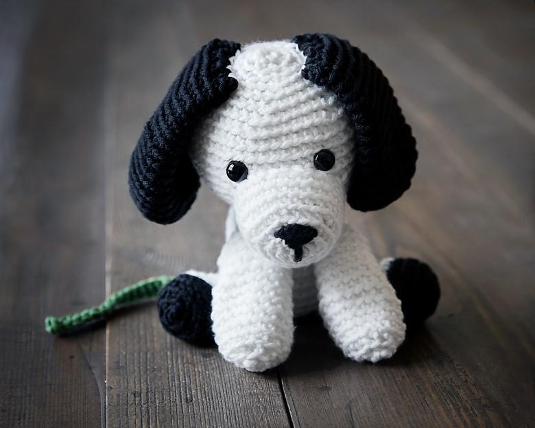 Free Crochet Puppy Pattern 4